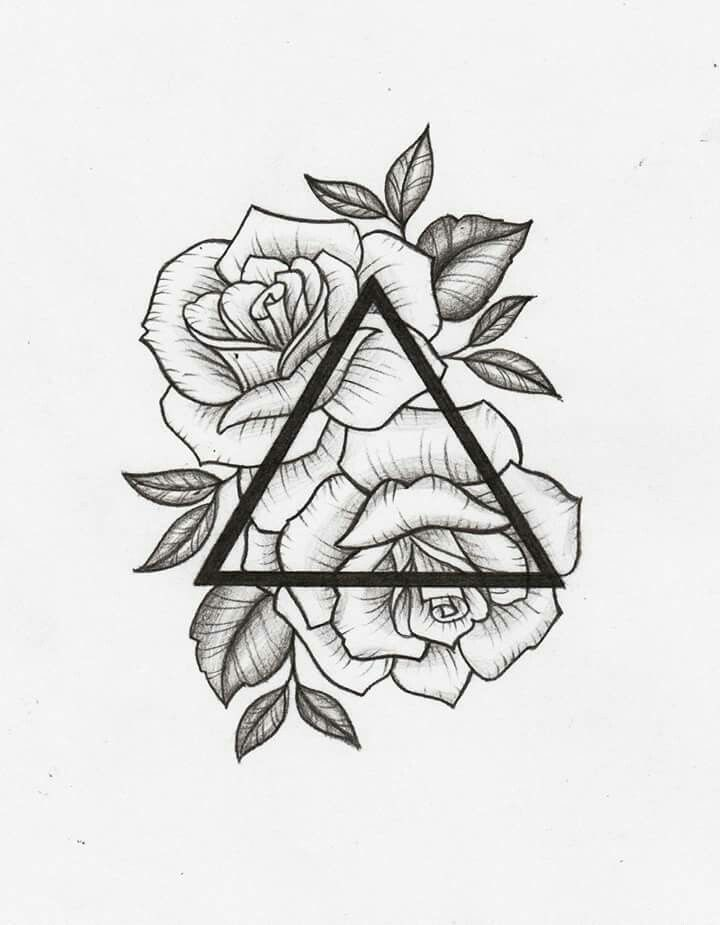 Tattoo Drawings On Paper Small: This Would Be Cool In Between The