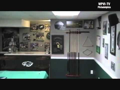 Man Caves Ni : 27 best philadelphia eagles rooms & wo man caves images on