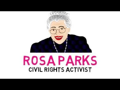 best rosa parks biography ideas rosa parks  rosa parks for kids watch this educational video for children a rosa parks biography
