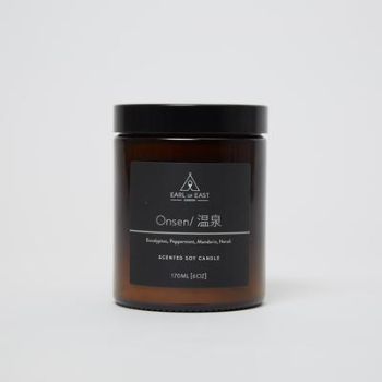 Earl of East London 170ml Onsen Soy Wax Mid Size Candle