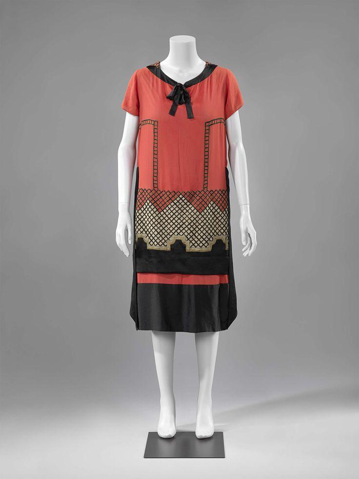1920, France - Silk evening dress