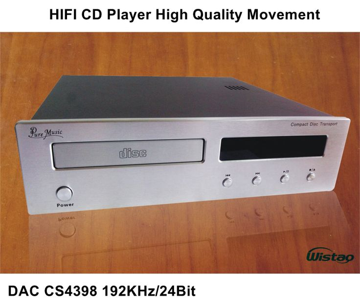 Marvelous HIFI CD Player with DAC CS Khz Bit High Quality Movement Upgrade Version Black or