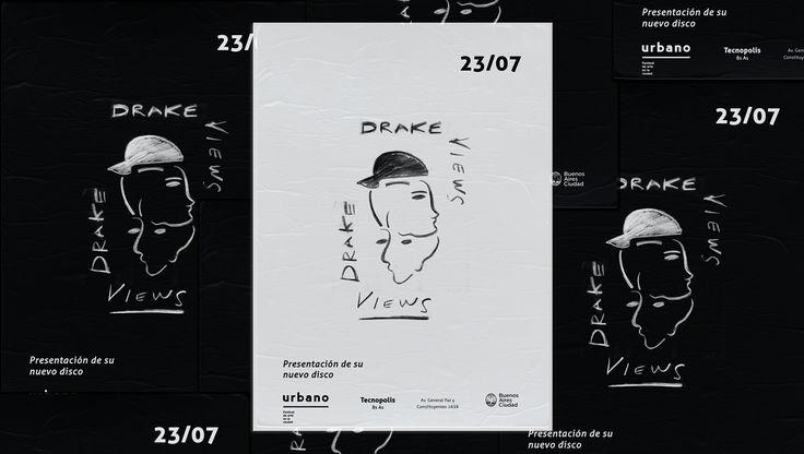 Drake tour / Views on Behance