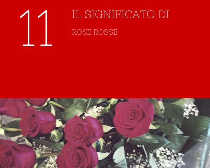 Significato di 11 rose rosse