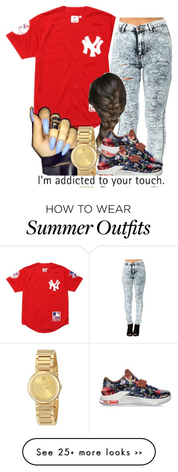 """Performance (Nautica's outfit)"" by trillest-queen on Polyvore"