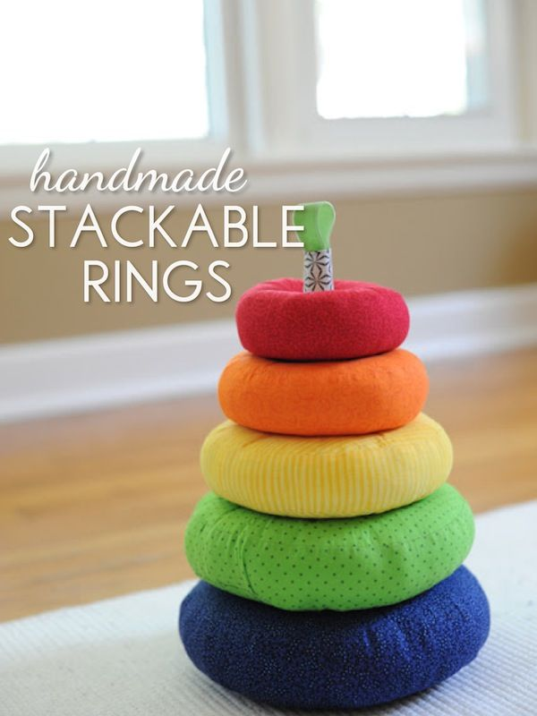 Handmade stackable rings!! How darling! Can't wait to make some of these!!