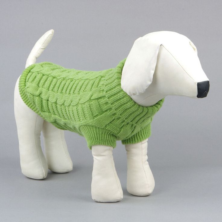 Большой Милый Маленький Питомец Собака Трикотаж Открытый Теплый Щенок Пальто Одежда Свитер Jumper купить на AliExpress