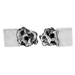 Tone cufflinks in sterling silver - $250 at http://www.lordcoconut.com/shop/tone-cufflinks/
