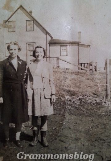"""Today's blog shares the story of my Mother's lifelong bond with my Aunt and the gift they both gave me and my cousin across """"the pond"""":  https://grammomsblog.wordpress.com/2016/02/20/the-link/"""