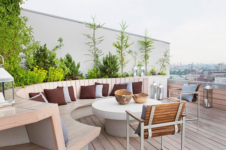 Apartment Design Penthouse Exterior Design Terrace Patio