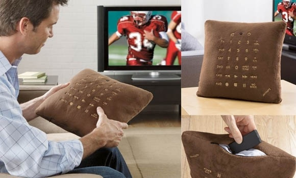 Pillow Remote Control: Remote Control, Univ Pillows, Pillows Remote, Cushions, Control Pillows, Sofas Pillows, Tv Remote, Electronics Gadgets, New Gadgets