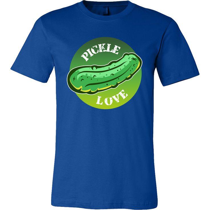 I Love Pickles Funny Food Pickled T-shirt