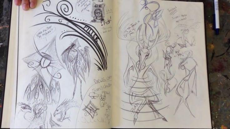 Character Design Sketchbook : Best vivziepop s lost found images on pinterest