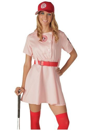 A League of Their Own Halloween Costume - Rockford Peaches & Racine Belles