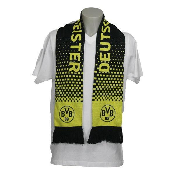 BVB Schal Deutscher Meister 2012 Borussia Dortmund - #Bundesliga, #Fanartikel, #Bekleidung, #Soccer, Fußball, #Sport - http://www.multifanshop.de
