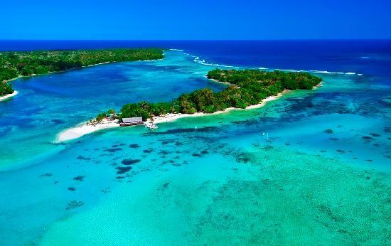 Port Vila, Efate, Vanuatu...that water is so incredibly blue!