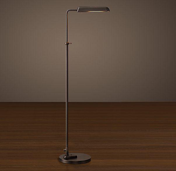 22 best floor lamp images on pinterest floor standing lamps floor 1930s parisian task floor lamp aloadofball Gallery