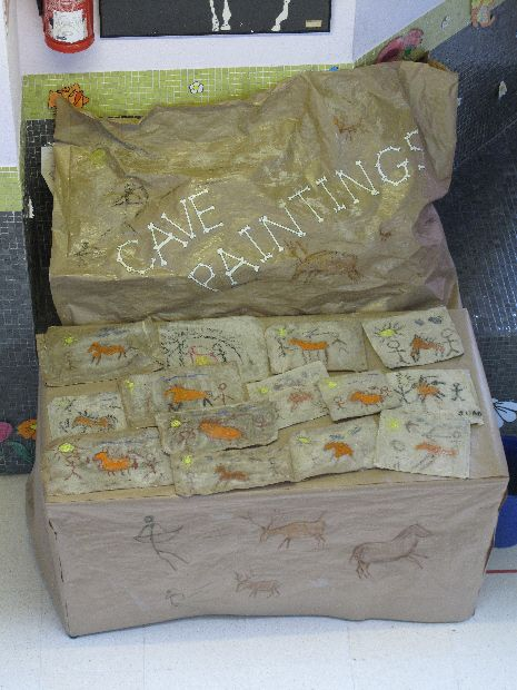 Cave Paintings classroom display photo - Photo gallery - SparkleBox: