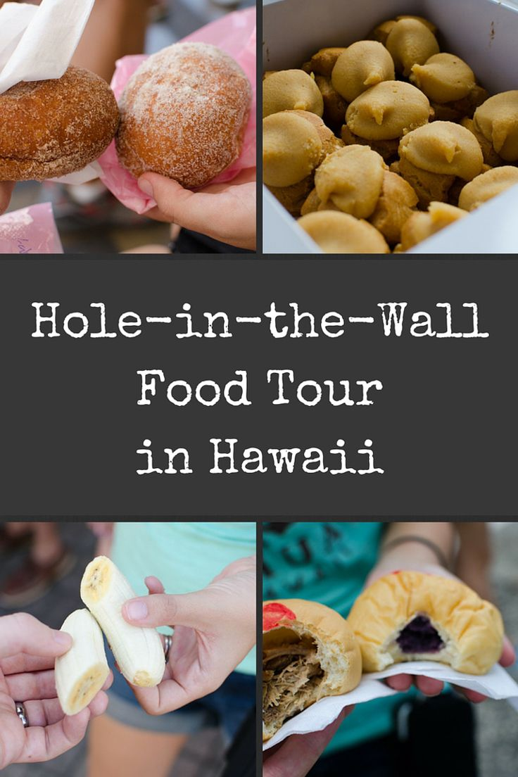 A Hole-in-the-Wall Food Tour in Hawaii. Highly recommend as a way to experience the flavors, culture, and off the beaten path places to eat in Hawaii.