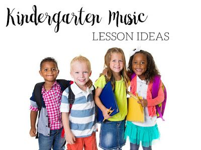 Kindergarten music lesson ideas: This blog post includes a sample Kindergarten lesson plan with specific written out directions, as well as a link to another free lesson!