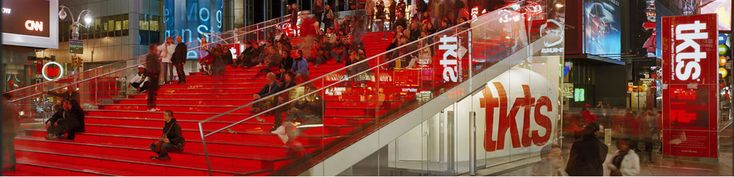 Locations & Hours | TKTS Discount Broadway Ticket Booths | Theatre Development Fund – TDF