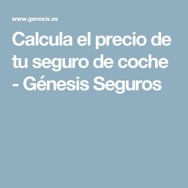 Calcula el precio de tu seguro de coche - Génesis Seguros
