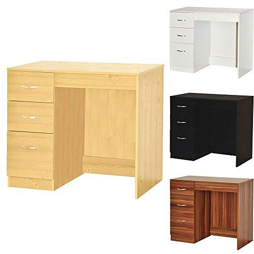Fabulous Home Discount Pine Computer Desk 3 Drawer Riano Bedroom Home Interior And Landscaping Ponolsignezvosmurscom