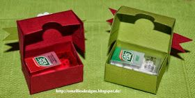 Omellie's Designs: Mini-mini Tic Tac Box Anleitung /Tutorial