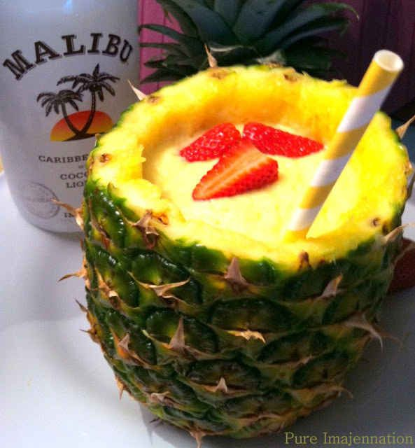 Or, use it to make a very strong drink look fruity and innocent.   21 Epic Ways To Drink Out Of Fruits
