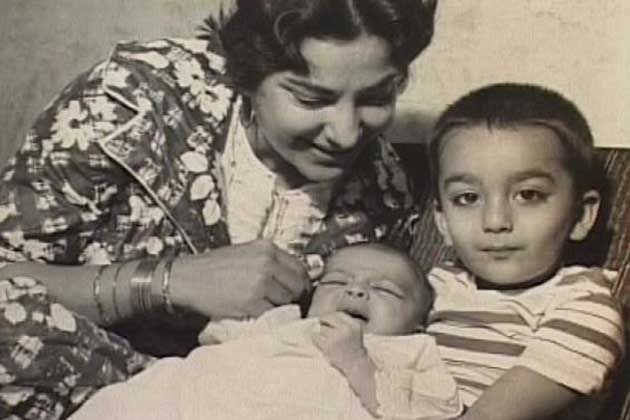 Sanjay Dutt Childhood Pictures