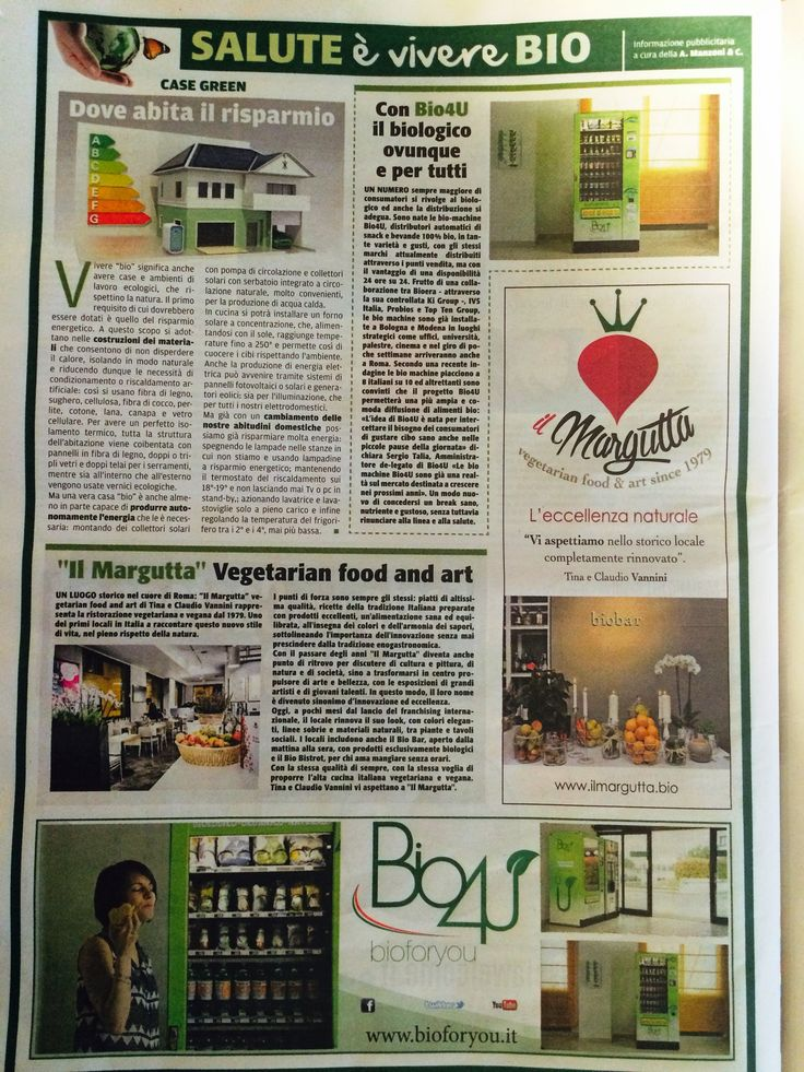 #larepubblica #cronacadiroma #ilmargutta #vegetariano #salute #bio #benessere #diconodinoi