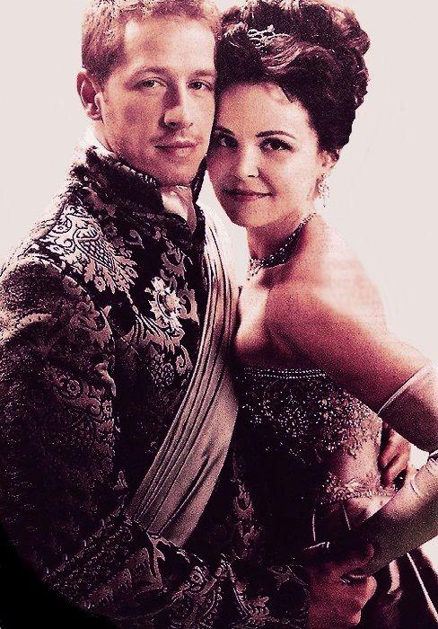Prince James and Snow White