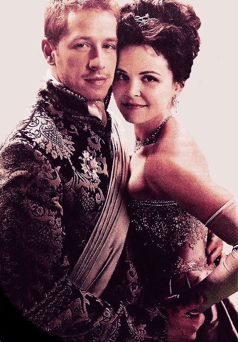 Prince James and Snow White