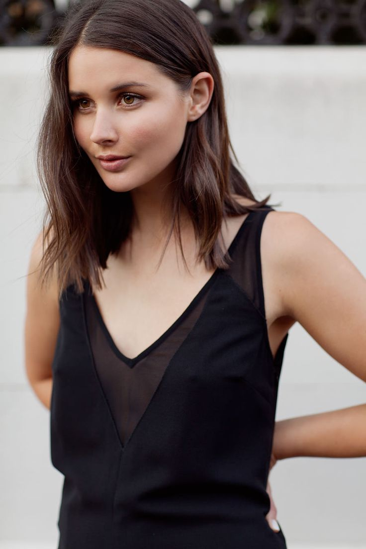 Sara Donaldson from Harper & Harley wears the Diagonal Dress by CAMILLA AND MARC. Available now.