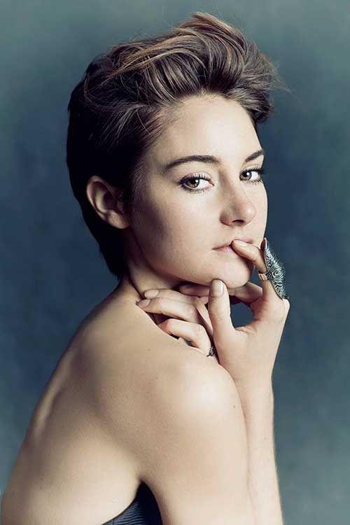 Shailene Woodley's Gorgeous Short Hair Pics //  #Gorgeous #Hair #Pics #Shailene #Short #Woodley's