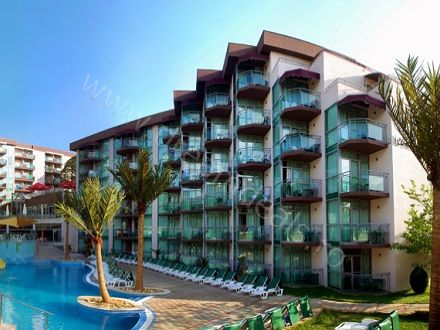 Relaxare la Nisipurile de Aur! Voucherul de 25 Lei iti asigura pretul redus de 249 Euro/persoana pentru un sejur de 5 nopti (6 zile) cazare in regim All Inclusive la Hotel Mimosa 4*!