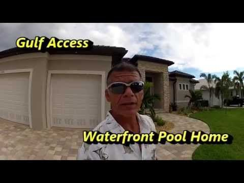 Punta Gorda Fla. New Construction Home for Sale. Leo Albanes with Charlotte County Properties Inc takes a Virtual Home Tour of 3 Bed 2 Bath 3 Car Waterfront … source
