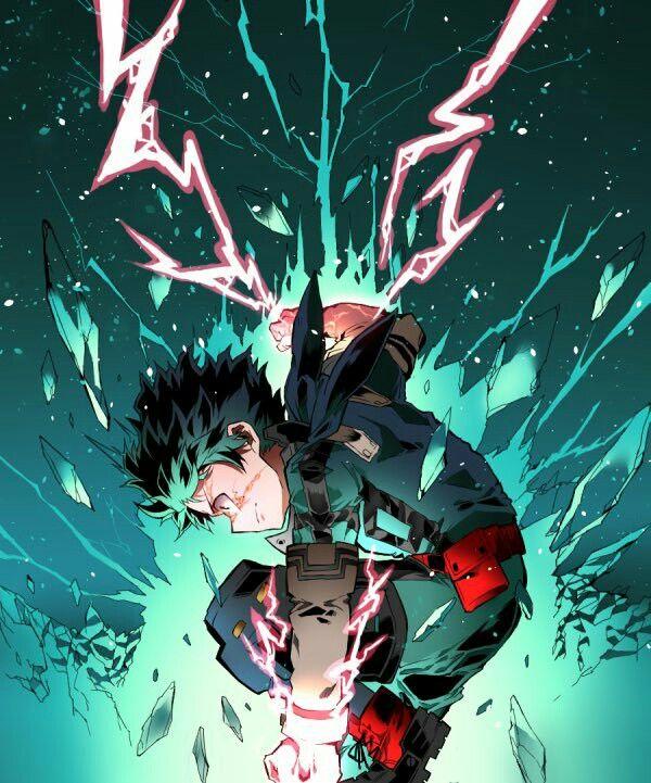Midoriya Izuku My Hero Academia Cred Skr I Hero Wallpaper My Hero Academia Episodes Anime
