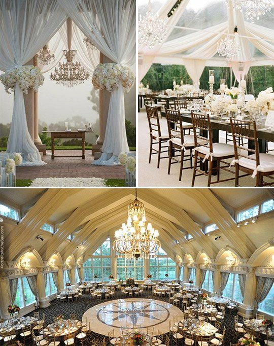 Elegant Wedding Trends wow, I can't even imagine what that kind of wedding would be like....it's a fairy tale