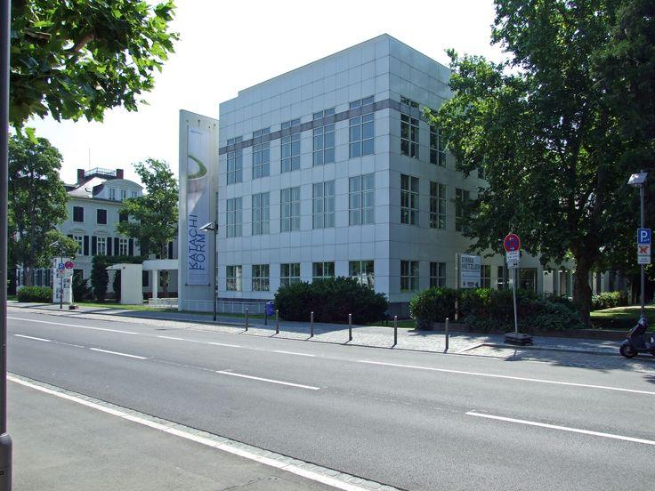 Richard Meier Frankfurt Museum street view