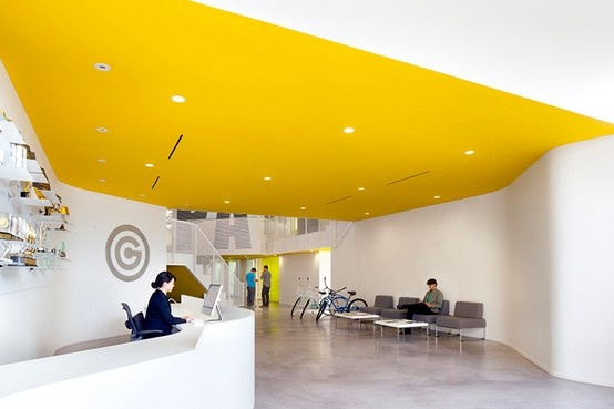 the power of a Yellow ceiling