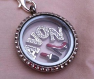 #Avon Reps - Whether you're showing pride in your company or giving an incentive gift to your team.   South Hill Designs offers beautiful lockets and charms. As displayed $60  Contact Shannon McAllister #10367 JewelrybySHD@gmail.com  www.SouthHillDesigns.com/jewelry