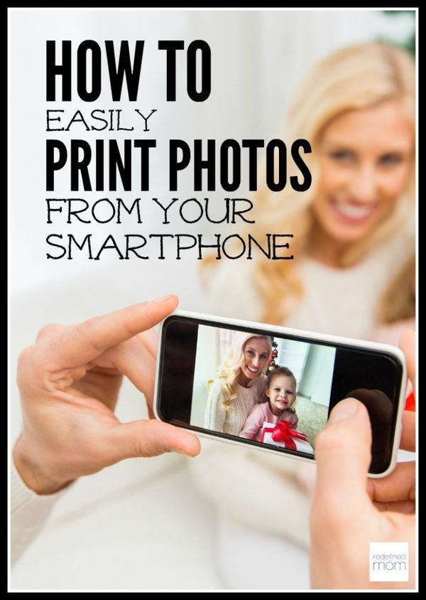 Don't lose all of your memories if you lose or break your phone...here are steps on how to easily print photos from your smartphone