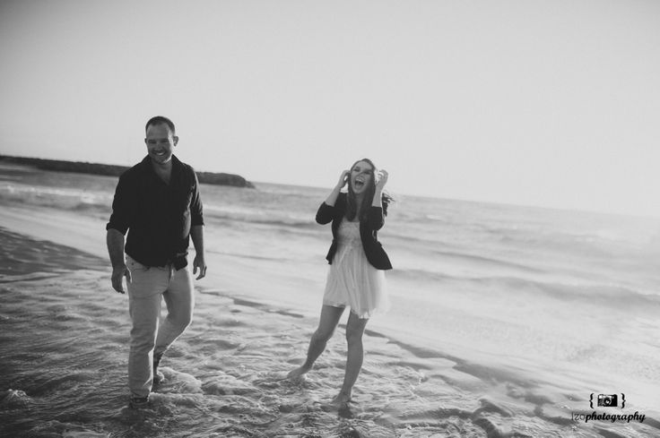 Perth Engagement Photographer. A candid moment at the beach.