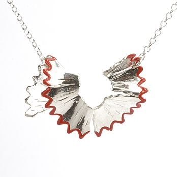 How I wish this wasn't $230 - Victoria Mason Pencil Shaving necklace, from oye modern