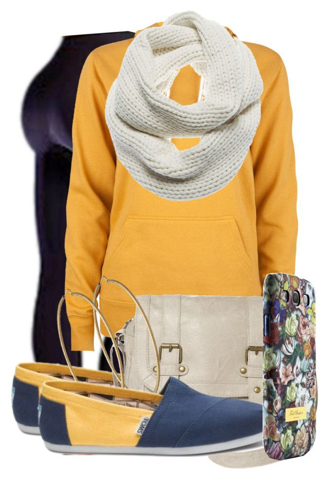 """""""simple-"""" by lover1 ❤ liked on Polyvore featuring TOMS, Full Tilt, Jane Norman, Carolina Bucci, J Brand and Ted Baker"""