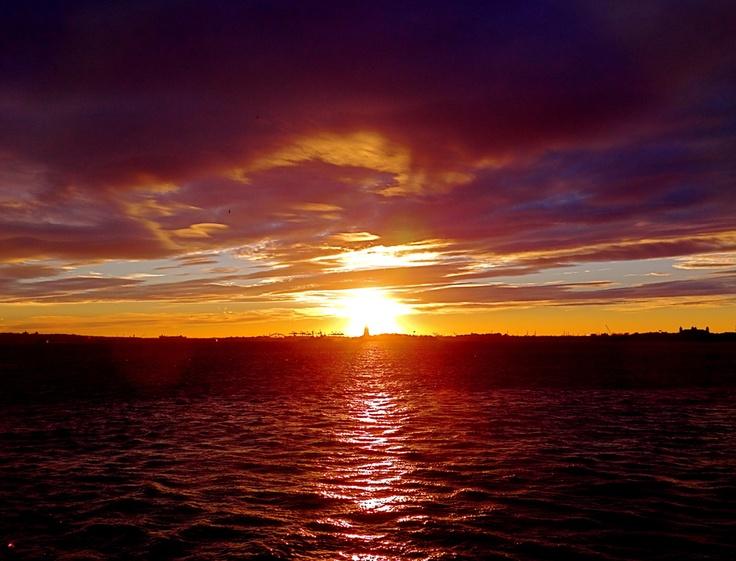 A Most Astonishing Sunset