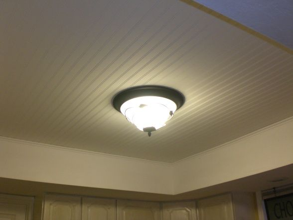 How to fix the ugly dropped ceiling!
