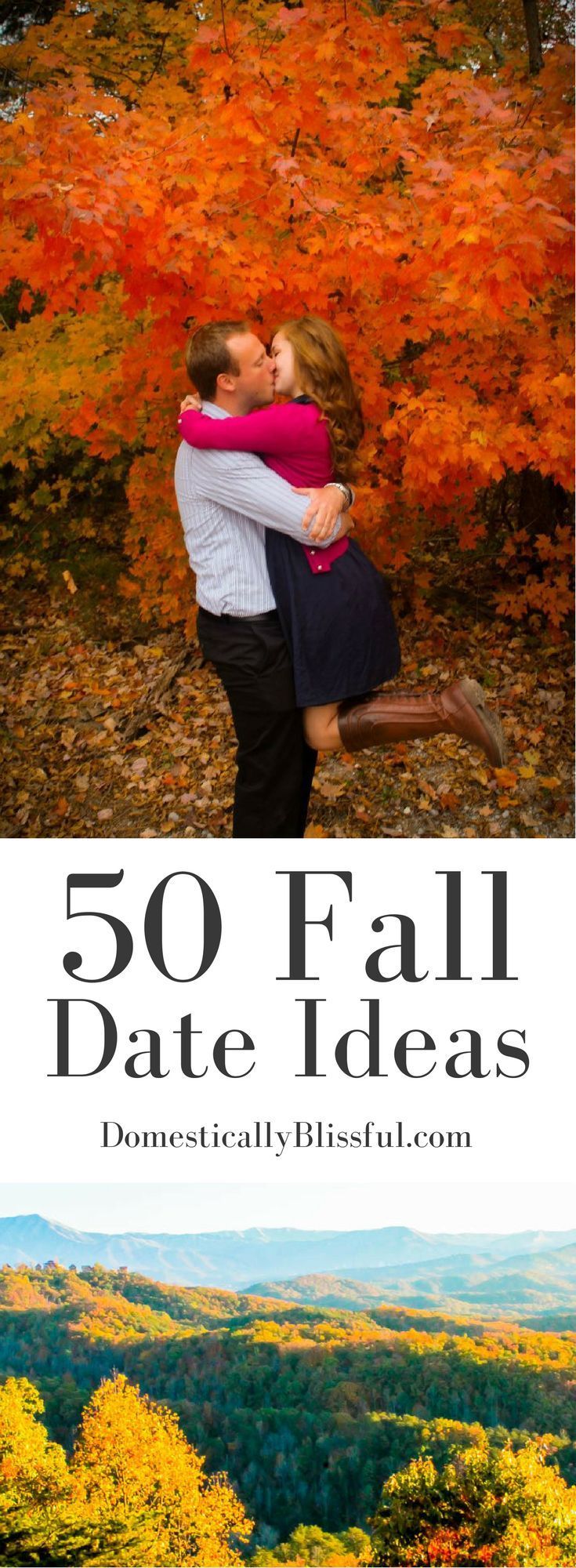 A list of fun & romantic fall date ideas that will last you all season!