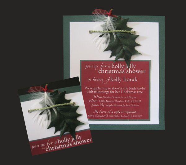 80 best christmas wedding invitations images on pinterest christmas wedding invitations idea themed bridal showerswedding filmwisefo